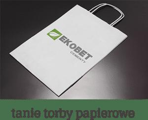 tanie torby papierowe ikona